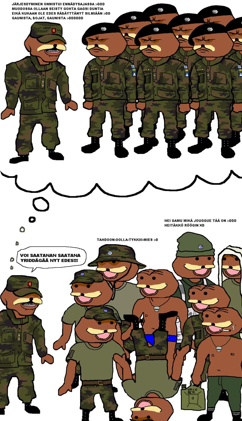c paperit armeijasta