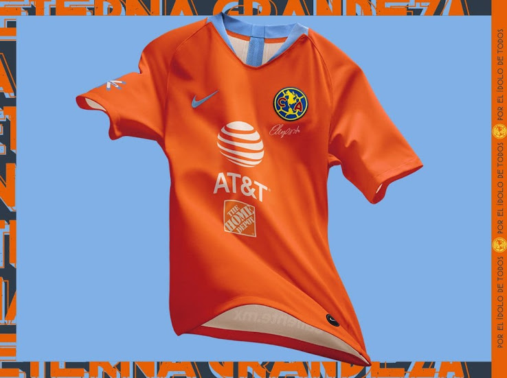 competitive price 7feeb d5cdd Nike Club America 2019 Third Kit Released - Footy Headlines
