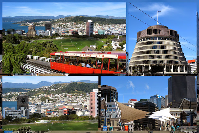 Scenes from Wellington New Zealand