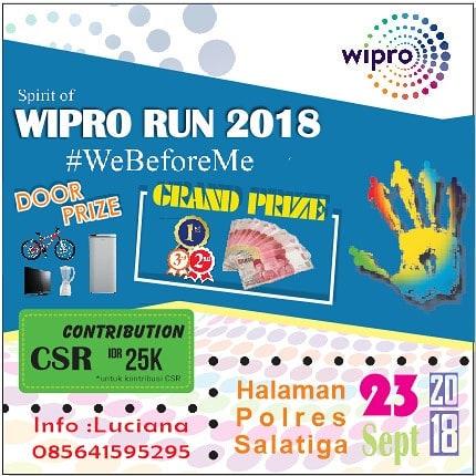 Wipro Run • 2018