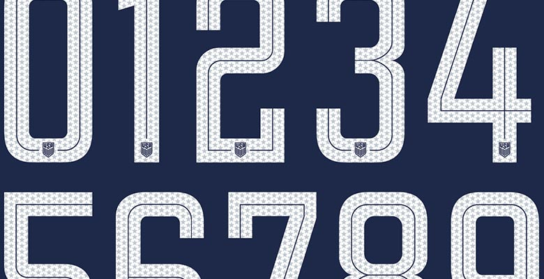 Soccer Jersey Number Fonts Related Keywords & Suggestions - Soccer