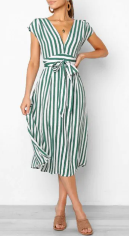 dress, haljina, summer, ljeto, stripes, pruge, uzorak, print, dezen, hot, vruće, plaža, beach