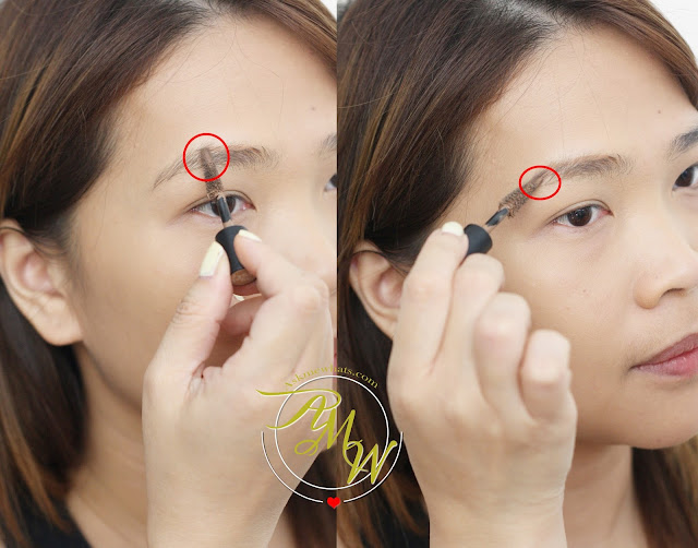 a photo on how to use Sleek MakeUP Brow Intensity Review in shades Light, Medium and Dark.