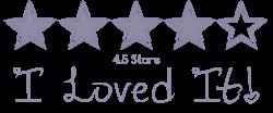 4.5 Stars I Loved It!