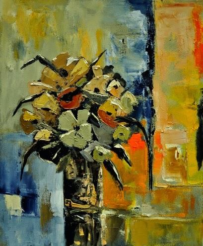 Ainda há Vida - Cores fortes e vibrantes nas pinturas de Pol Ledent