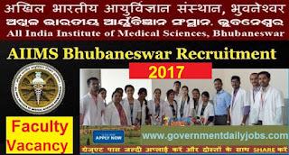 AIIMS Bhubaneswar Recruitment 2017 Apply For 178 Professor Posts