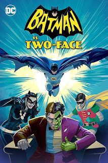 "Dos vídeos promocionales de la película animada de ""Batman vs. Two-Face"""