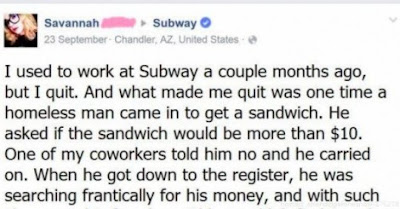 Girl Quits Her Job At Subway After Her Manager Inexplicably Says THIS To Her