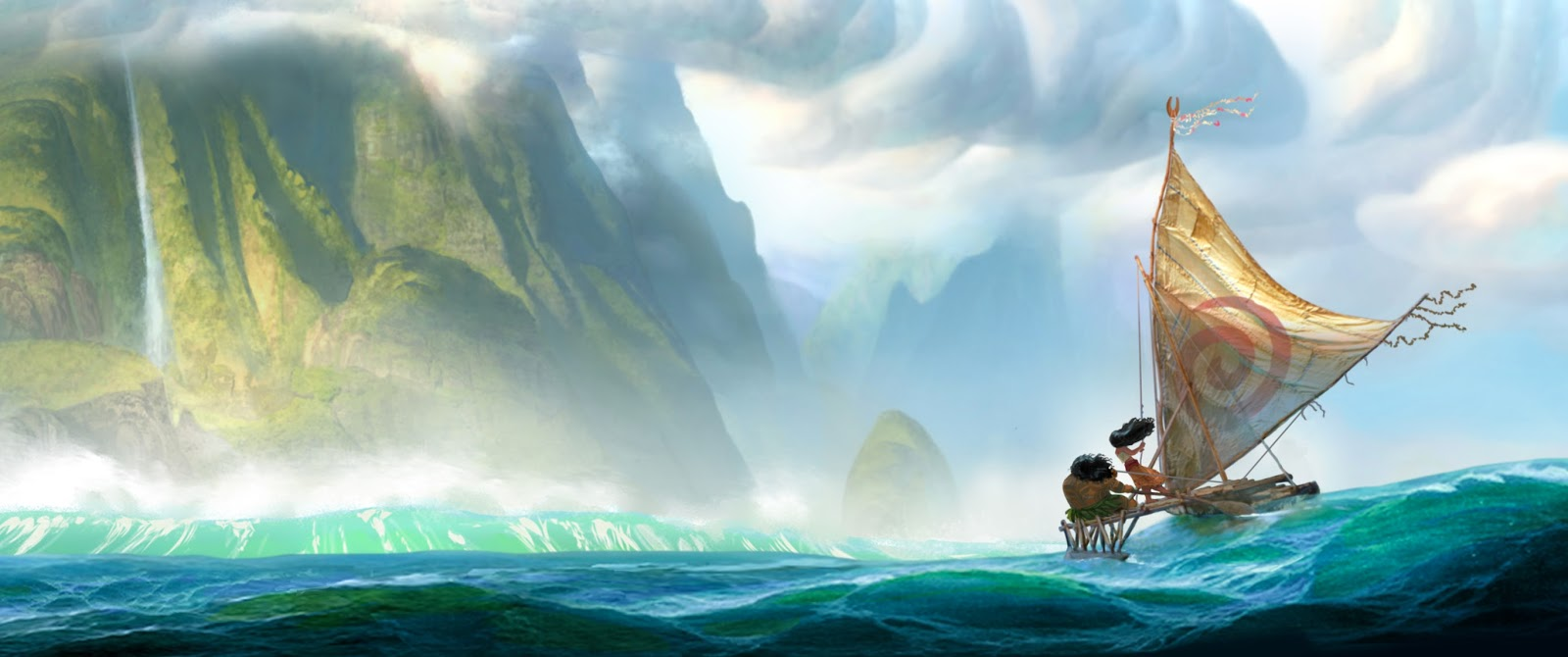 "Walt Disney Animation Studios ""Moana"" First Look"