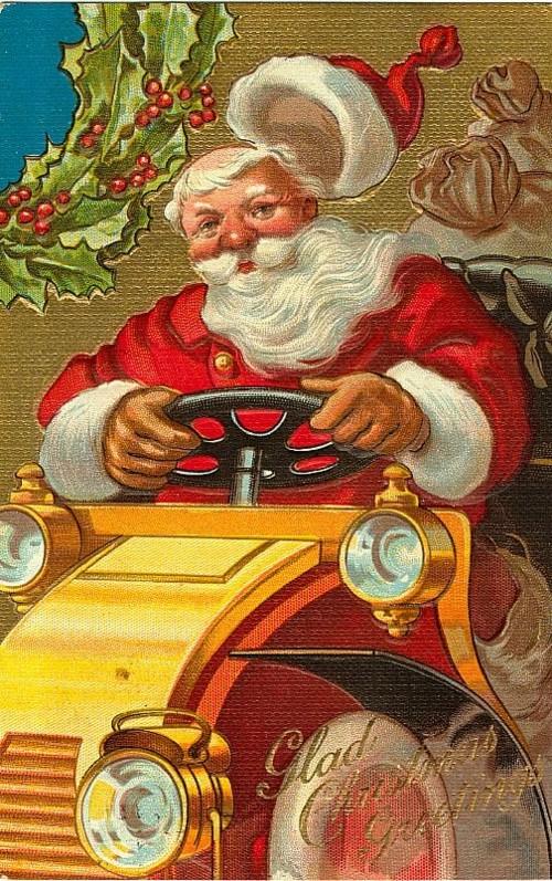 Papai Noel vintage