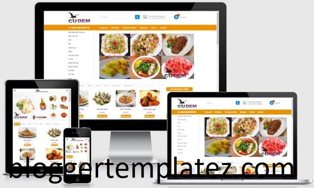 Template blogspot bán hàng đẹp