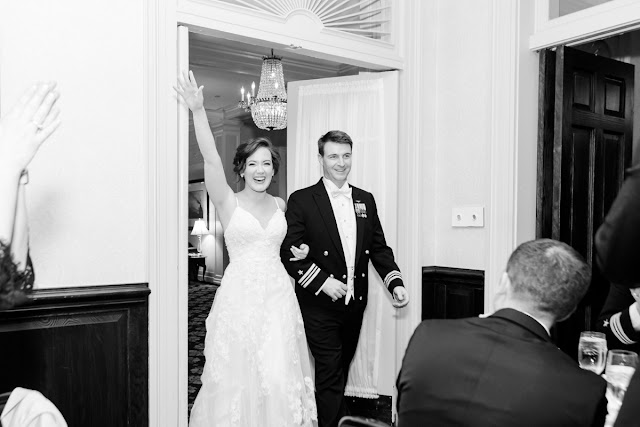 Snowy Winter US Naval Academy Wedding photographed by Maryland Wedding Photographer Heather Ryan Photography