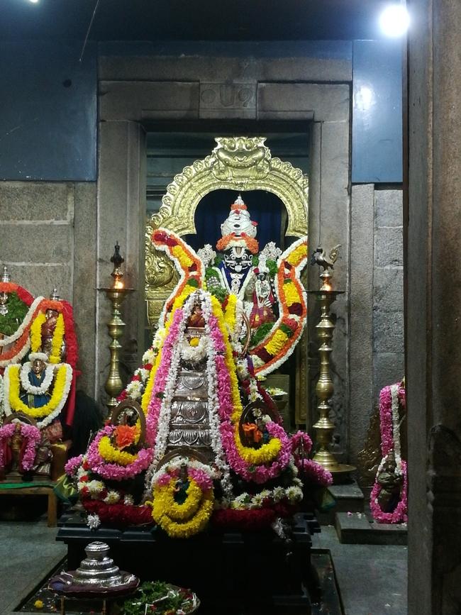 Sri Hari Vaikunta Kshetra Main Deity & Meru With Silver Kavacham