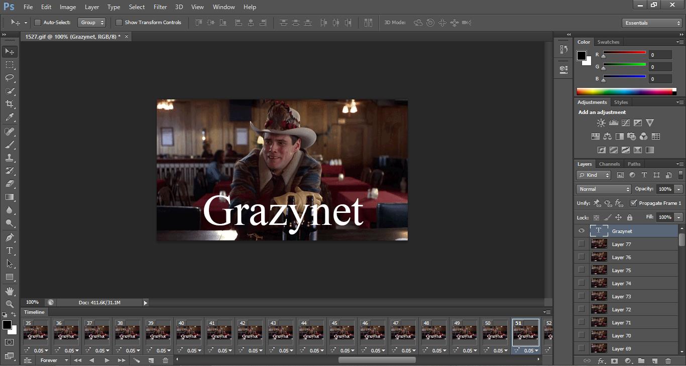 كيفية الكتابة على الصورة المتحركة GIF افضل 4 طرق