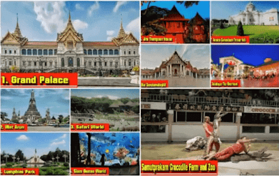 الاماكن السياحية في بانكوك