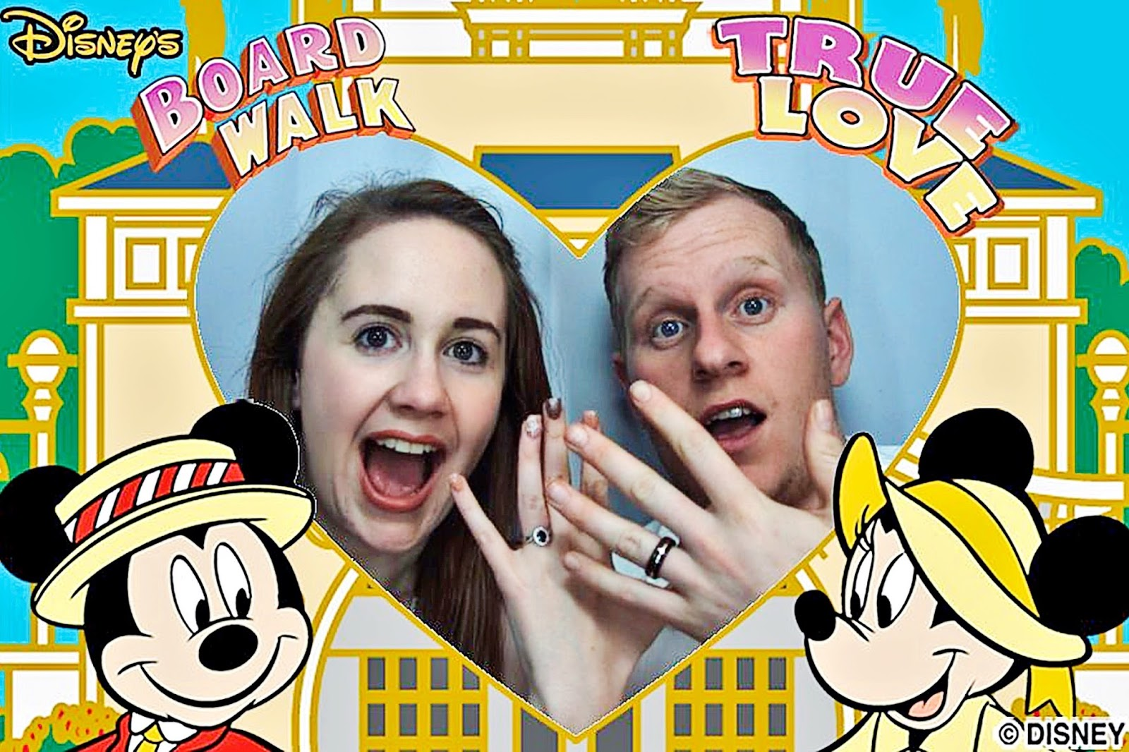 Disney Boardwalk Photo Booth