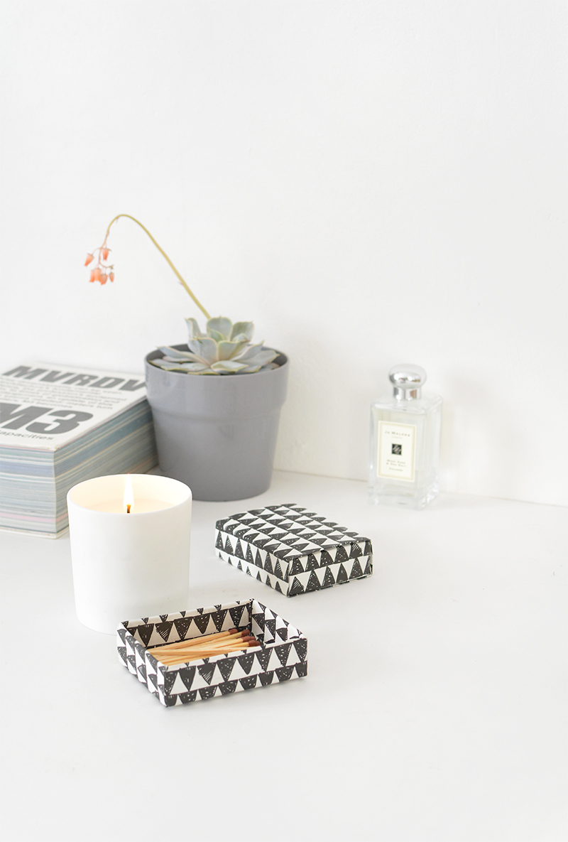 DIY matchboxes
