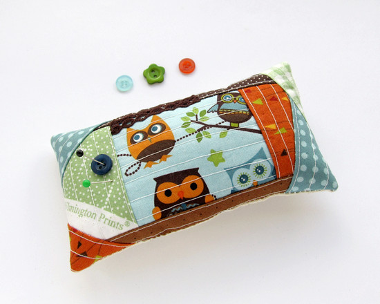 Pincushion, owls, совы
