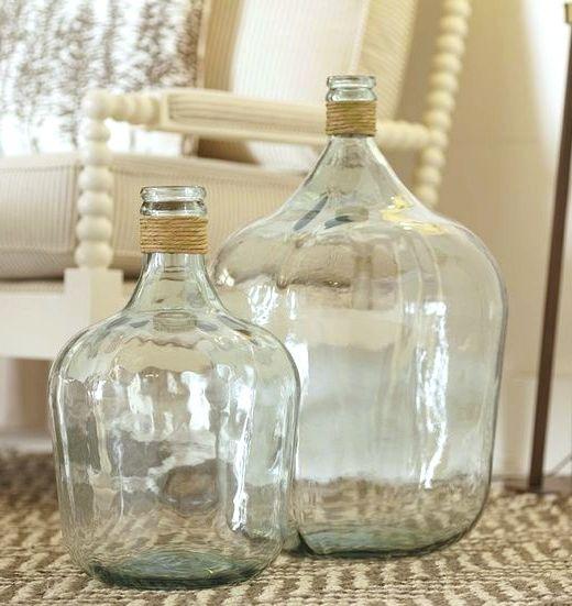 Demijohn Style Glass Vases | Nautical Decor Ideas | Shop the ...