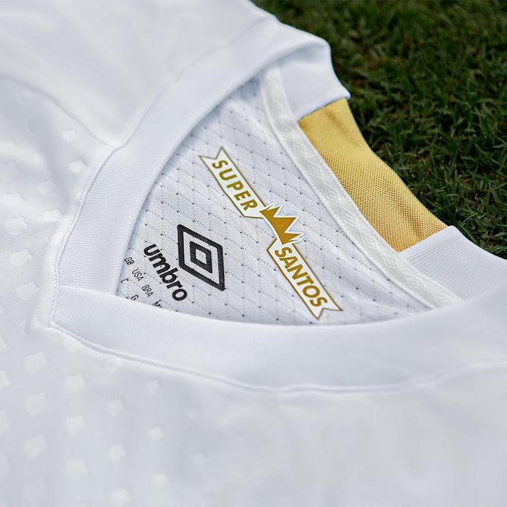 6322adcc46 Umbro Santos 18-19 Home & Away Kits Released - Footy Headlines