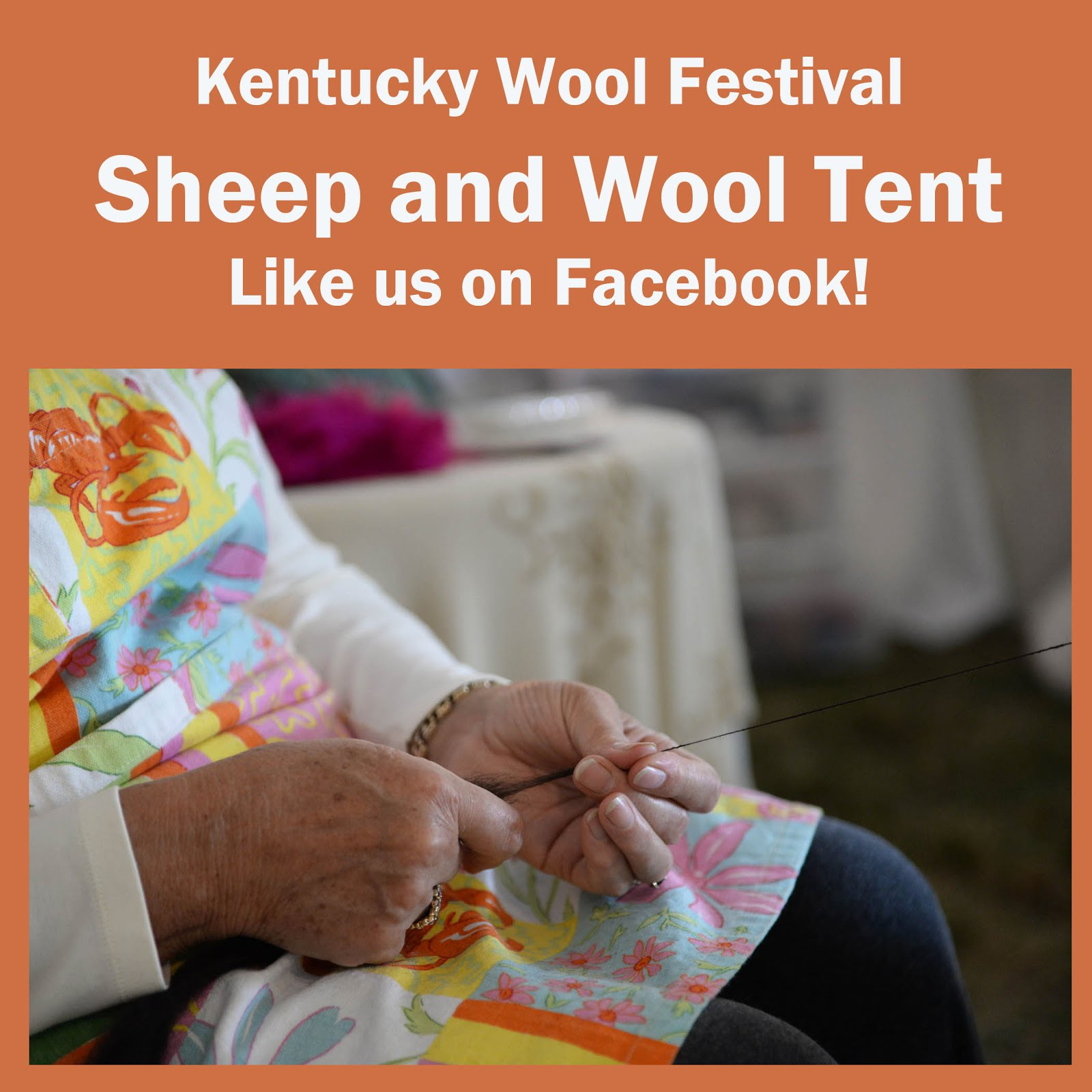 Kentucky Wool Festival Sheep and Wool Tent