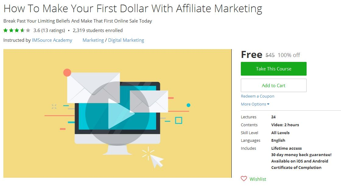 How to get all udemy courses for free