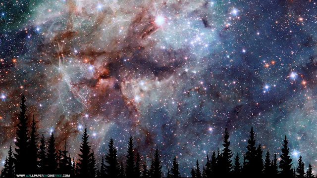 Downoad Night Sky 4K Wallpaper Engine Free
