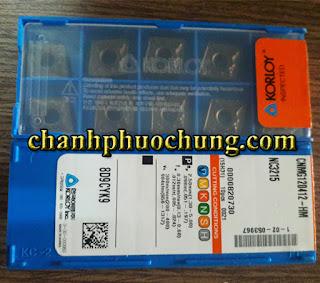 Mảnh dao tiện CNMG120412-HM-NC2315