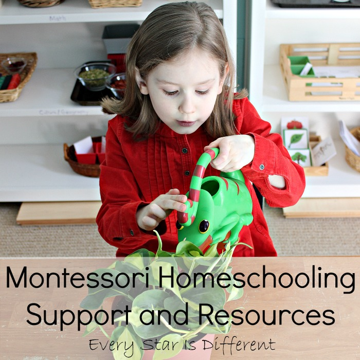 Montessori Inspired Homeschooling Support and Resources