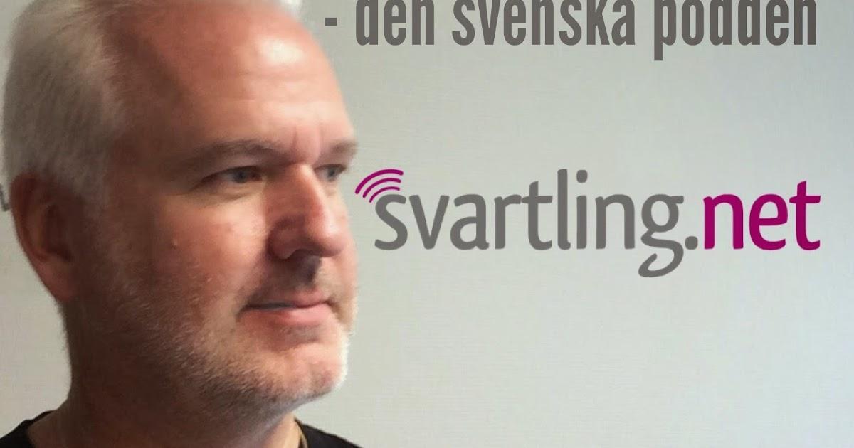 Funderar på att starta min svenska podcast Svartlingcast igen