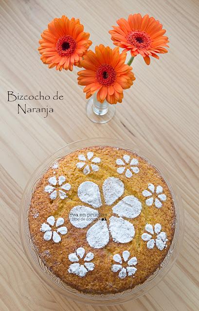 Bizcocho de Naranja / Eva en pruebas