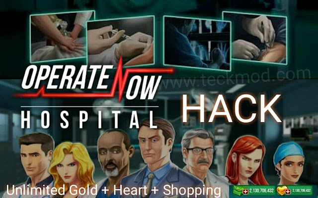 Operate Now Hospital mod Apk Unlimited Money Infinity Golden Hearts and Data for free Download on Android