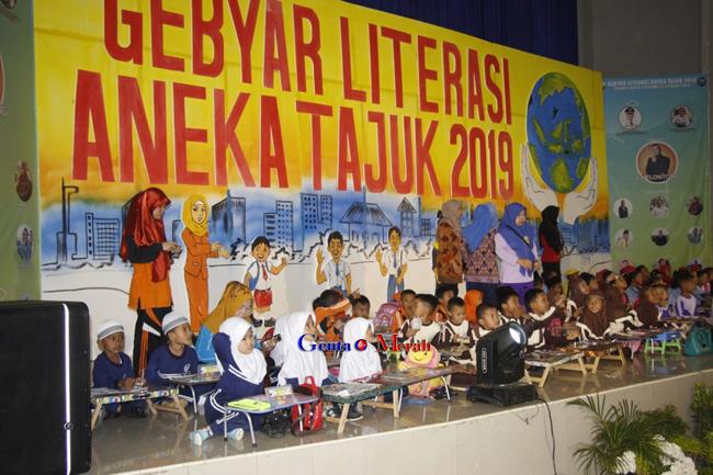 Kembangkan Literasi,  Dinas P&K Lampura Gelar Berbagai Perlombaan