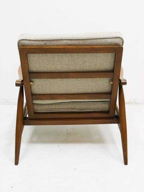hans Wegner Style Lounge Chair GE-270 Back