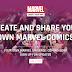 Fãs de Marvel vão poder criar a sua própria banda desenhada