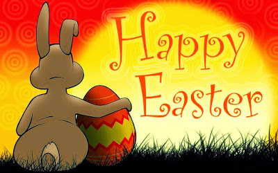 Happy Easter HD rabbit image