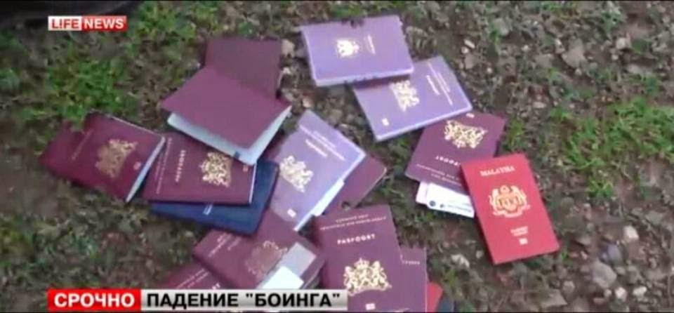 Passpot MH17 passengger