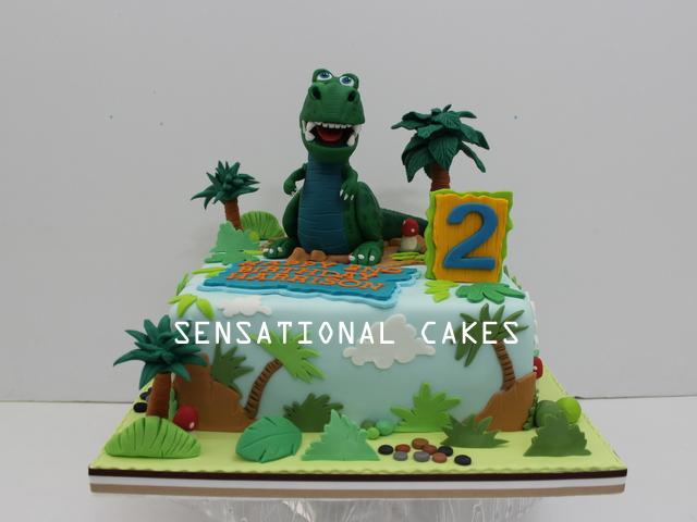 The Sensational Cakes Rex Dinosaur TOY STORY 3D CAKE SINGAPORE