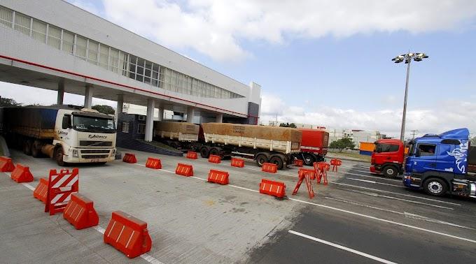 Pátio de triagem de Paranaguá recebe 41% mais caminhões em 2015