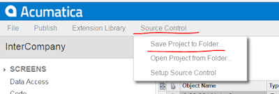 Save To Folder acumatica