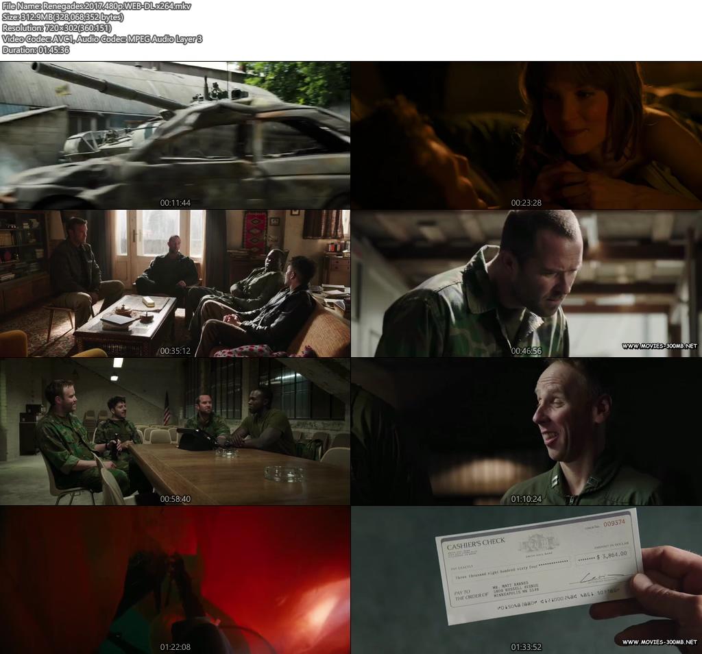 Renegades 2017 480p WEB-DL 300MB x264 Screenshot