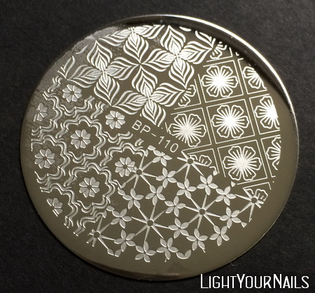 BP-110 stamping plate at BornPrettyStore