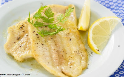 Recette de filet de sole au four | Baked fillet of sole recipe