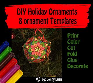 DIY Holiday Ornaments bundle