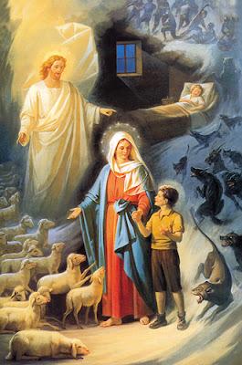 Resultado de imagem para mulher rezando a virgem maria