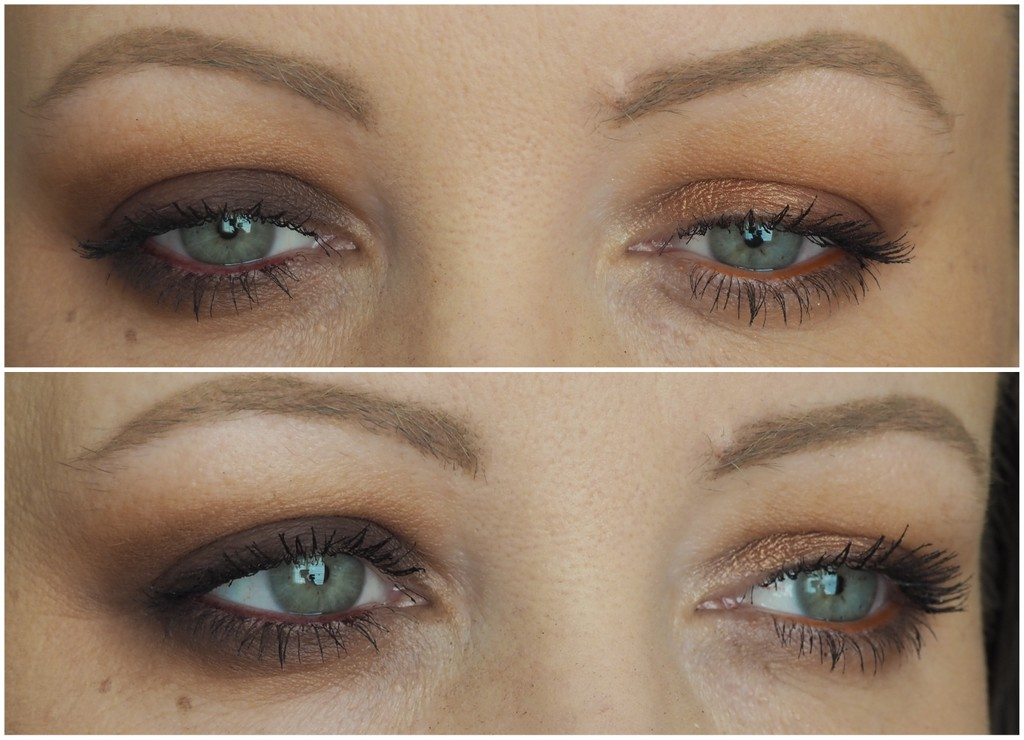 Urban Decay Naked Heat Palette - Two Looks - Step By Step -2072