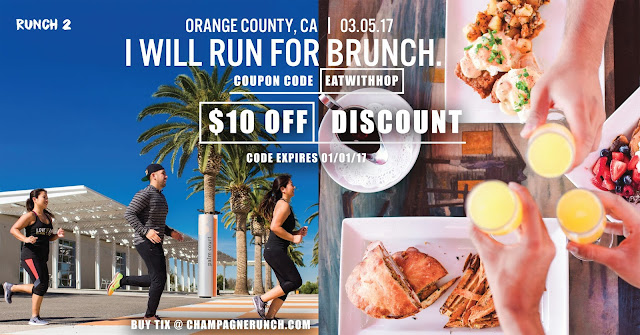Mar. 5 | Just A `Lil Sweat but No Regrets! Run for Champagne and Brunch Feast ! [Plus $10 Off Discount]