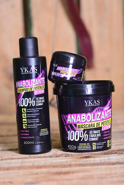 Banho de Verniz, Máscara Anabolizante e BBtox Liquid - Ykas
