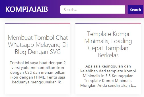 Gambar Website Kompi Ajaib