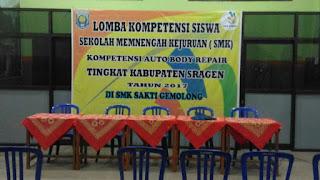 SMK Sakti Gemolong LKS - Lomba Kompetensi Siswa Tahun Ajaran 2017-2018